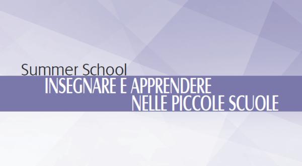 """Protetto: Materiali Summer School """"Insegnare e apprendere nelle piccole scuole"""""""