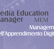 "Presentazione del Master ""Media Education Manager. Management dell'apprendimento digitale"""