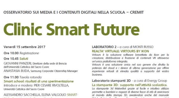 """Protetto: Materiali """"Clinic Smart Future"""""""