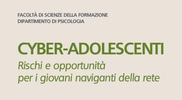 """""""Cyber-adolescenti"""", il seminario del 18 ottobre"""