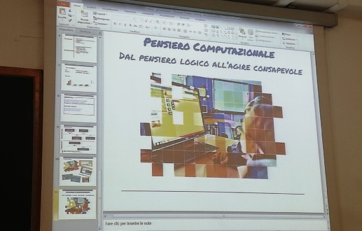 """Pensiero computazionale e didattica Workshop del convegno nazionale """"Cultura digitale"""""""