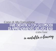"""Aperte le iscrizioni al CAF in e-learning """"Fare didattica con gli EAS"""" - Corso base (II edizione)"""