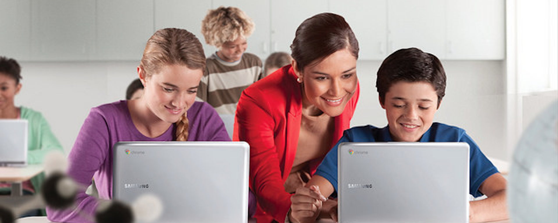 Who controls technologies more: teachers or students?