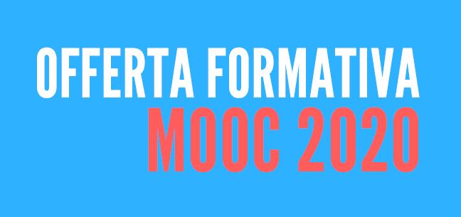 Offerta formativa MOOC 2020
