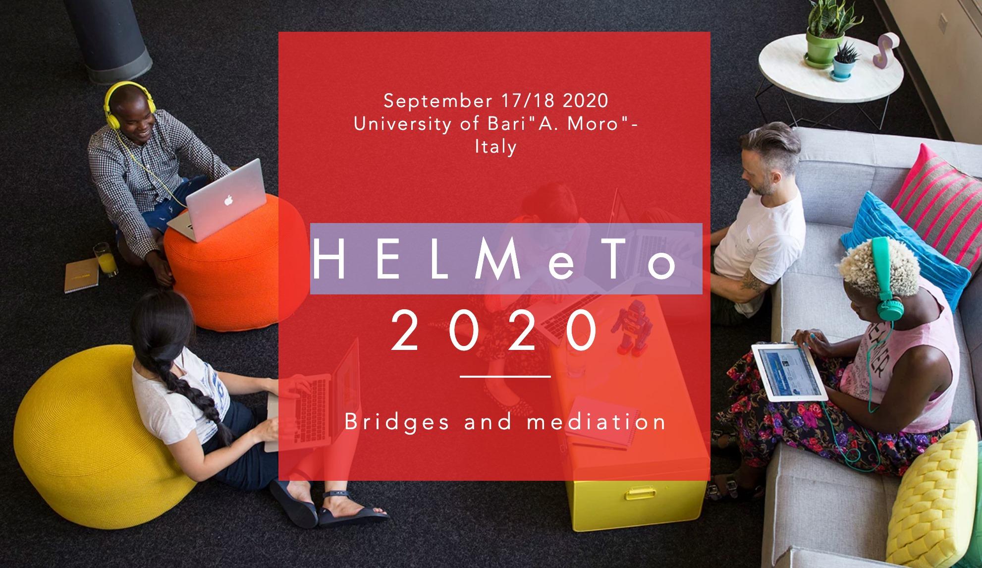 HELMeTO-2020, un workshop internazionale per la didattica universitaria telematica