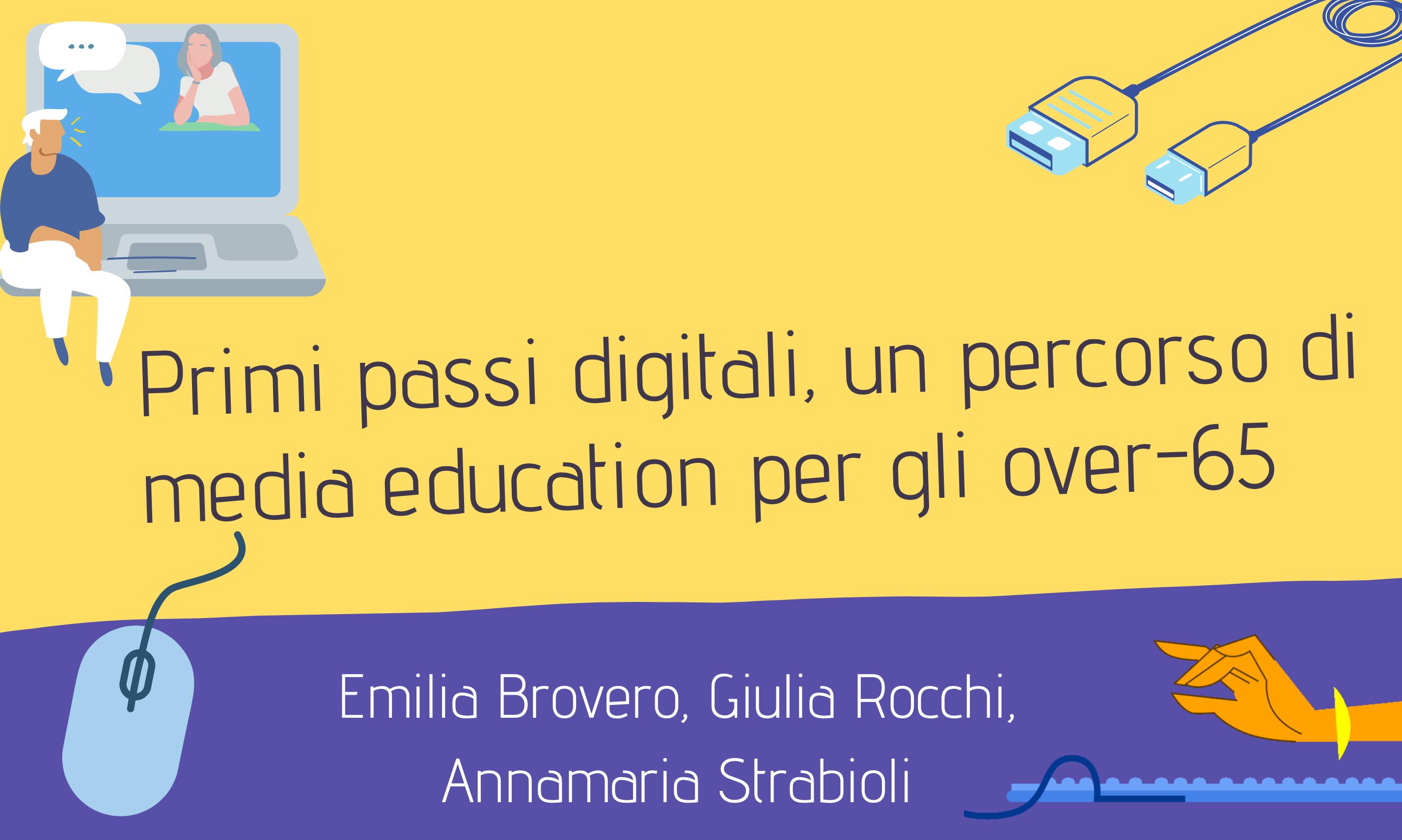 """Over-65 pronti a muovere i """"primi passi digitali"""" guidati dai media educator del master MEM"""