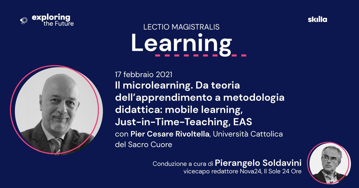 Il microlearning. Da teoria didattica dell'apprendimento a metodologia didattica