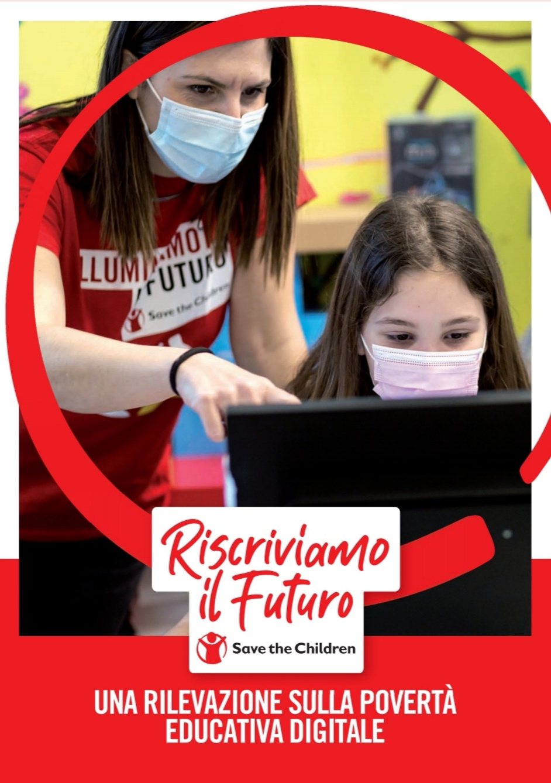 Povertà educativa digitale, il rapporto di Save the Children con il contributo di Cremit